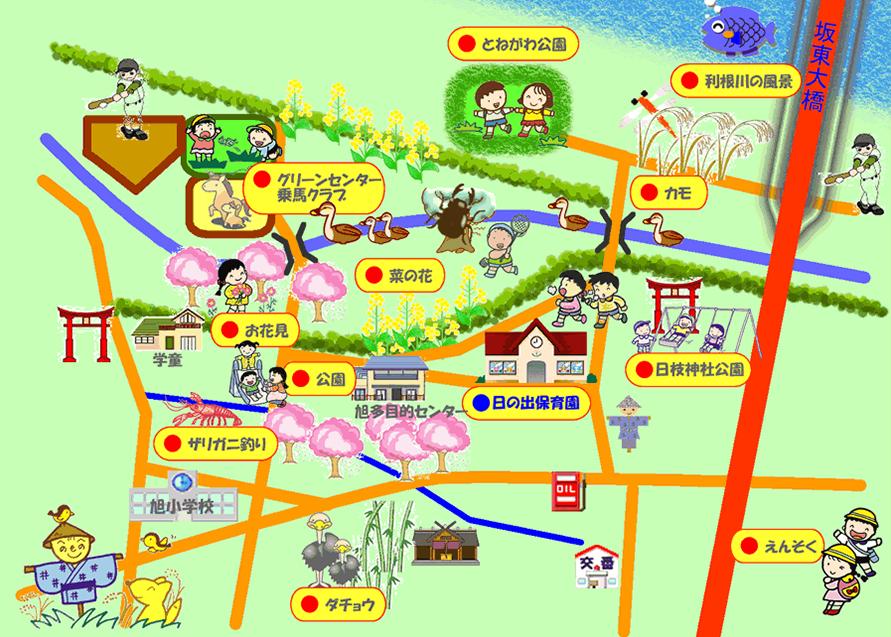 周辺環境・お散歩マップ